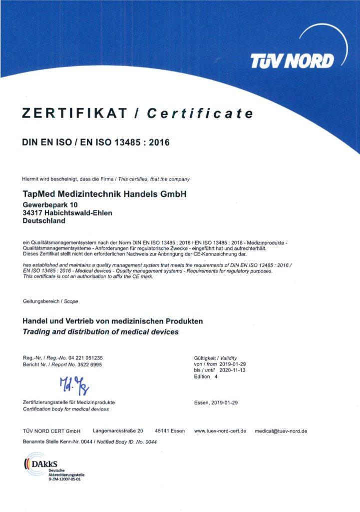 EN ISO 13485-2016